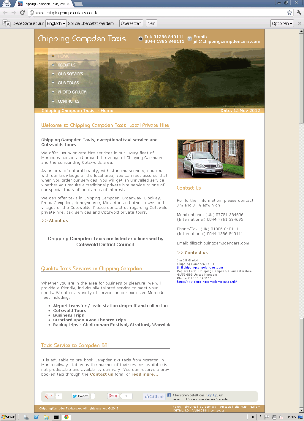 chipping campden taxis